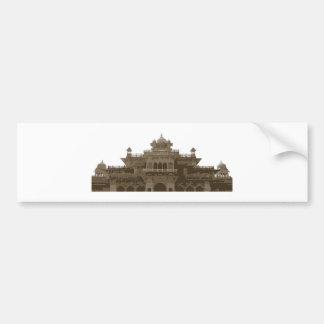 Indian Palace Bumper Sticker