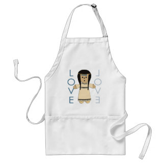 Indian Paperdoll Aprons