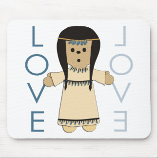 Indian Paperdoll Mouse Pad