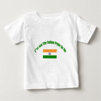 Indian patriotic flag designs infant t-shirt