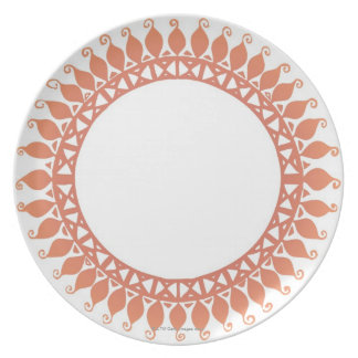 Indian Pattern Dinner Plate