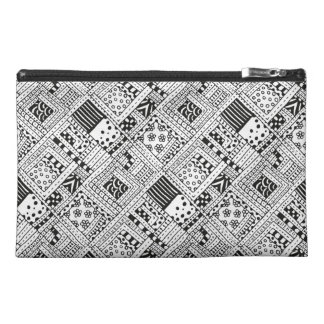 Indian Pattern Doodle Travel Accessories Bags