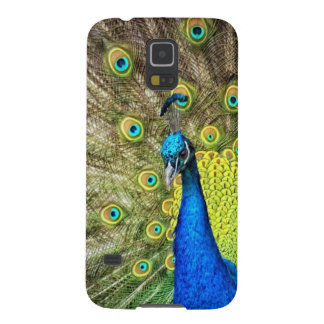 Indian Peacock Cases For Galaxy S5