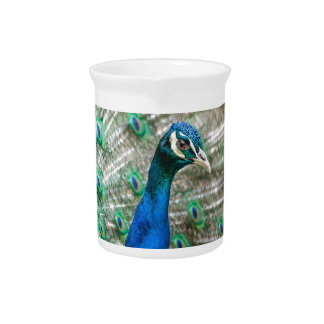 Indian Peacock Drink Pitcher