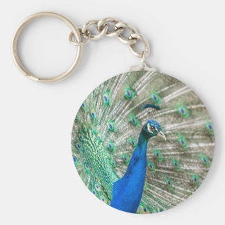 Indian Peacock Keychain