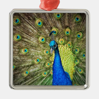 Indian Peacock Christmas Tree Ornaments