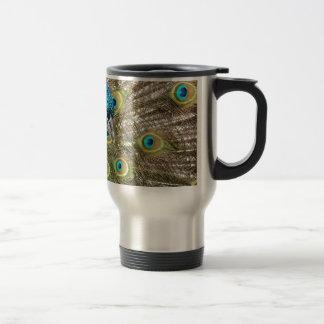 Indian Peacock. Travel Mug