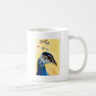Indian Peafowl 721 design by Schukina Coffee Mug