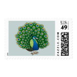 Indian Peafowl Stamps