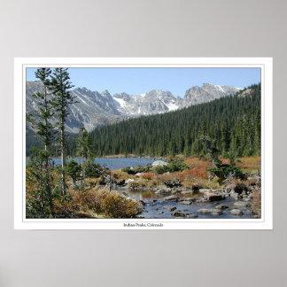 Indian Peaks, Colorado Poster