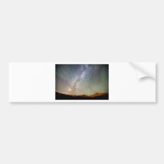 Indian Peaks Milky Way Bumper Sticker