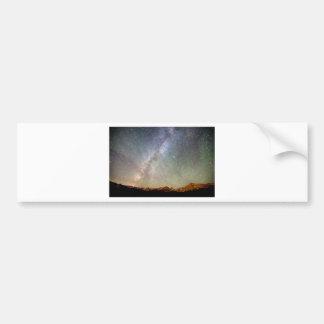 Indian Peaks Milky Way Car Bumper Sticker