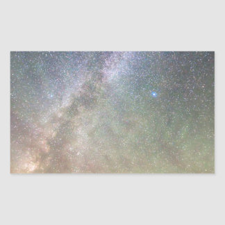 Indian Peaks Milky Way Rectangular Sticker