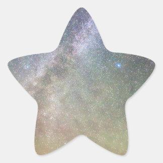 Indian Peaks Milky Way Star Sticker