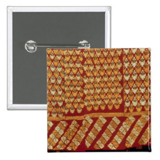 Indian Phulkeri embroidery Button