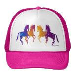 Indian Ponies Adjustable Baseball Cap Trucker Hat