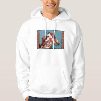 Indian Pony Head hoodie