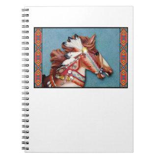 Indian Pony Head notebook