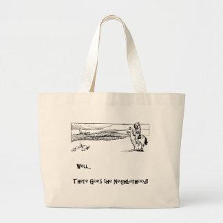 Indian, Pony, Settlers, Politically Incorrect Jumbo Tote Bag