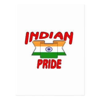 Indian pride postcard