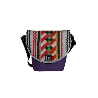 Indian Quilt Art Messenger Bag