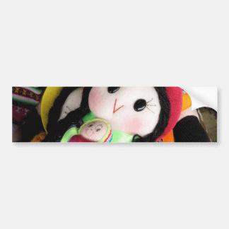 Indian rag doll bumper sticker