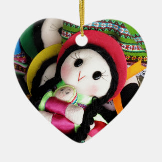 Indian rag doll christmas tree ornaments