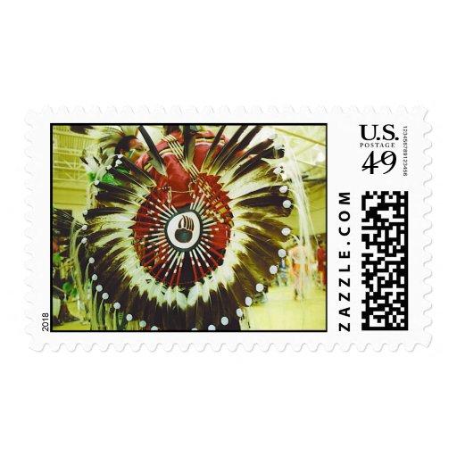 Indian Regalia Stamp