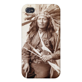Indian Revolt Instigator, 1890 Case For iPhone 4