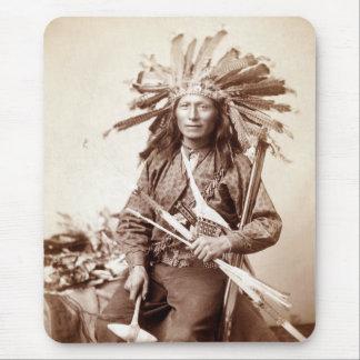 Indian Revolt Instigator, 1890 Mouse Pad