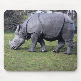 Indian Rhinoceros Mouse Pad