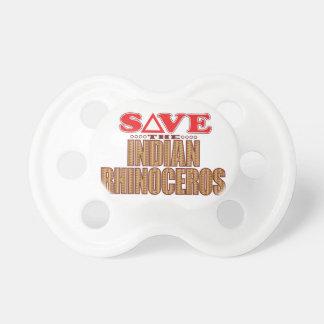 Indian Rhinoceros Save Pacifier