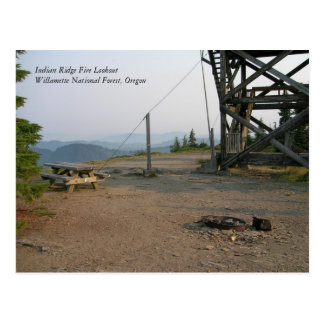 Indian Ridge Fire Lookout Postcard