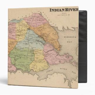 Indian River Vinyl Binder
