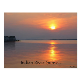 Indian River Inlet Ocean View Postcard