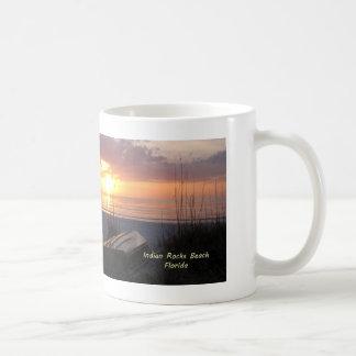 Indian Rocks Beach Florida Sunset Beach Boat Coffee Mug