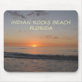 Indian Rocks Beach Florida Sunset Mousepad