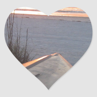 Indian Rocks Beach Scruggs Harbor Florida Heart Sticker