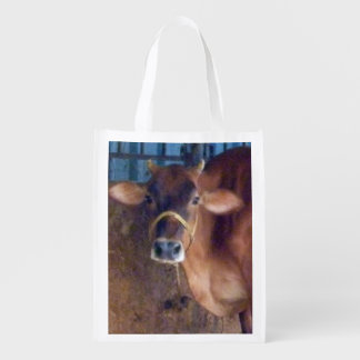 Indian Sacred Cow Grocery Bag