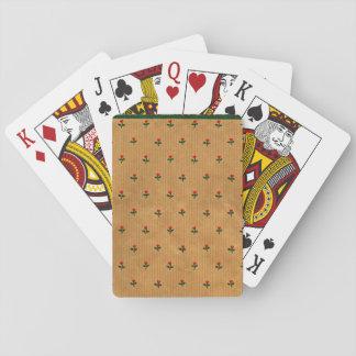 Indian saree design playing cards