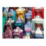 Indian Sari for Sale Postcard
