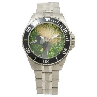 Indian Sarus Crane Wrist Watch