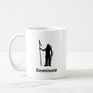 Indian Seminole Classic White Coffee Mug