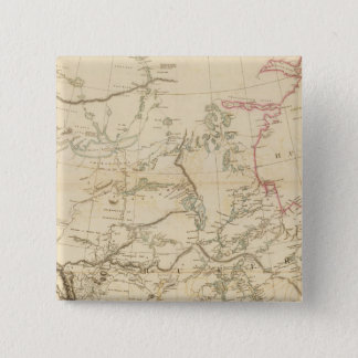 Indian Settlements in North America Pinback Button