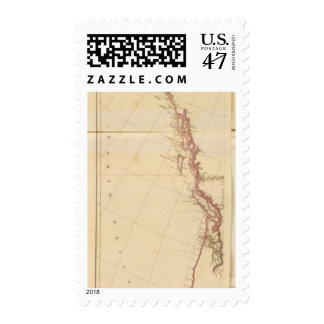 Indian Settlements in North America Postage