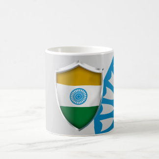 INDIAN SHIELD COFFEE MUG