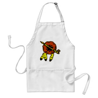 Indian Shield & Tobacco Pipe Adult Apron