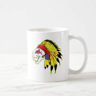 Indian Skull Headress Coffee Mug