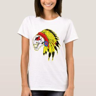 Indian Skull Headress T-Shirt
