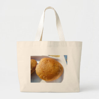 Indian snack food, oily canvas bag